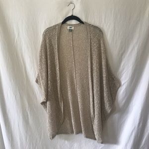 Old Navy Sweaters - Beige Oversized Knit Cardigan